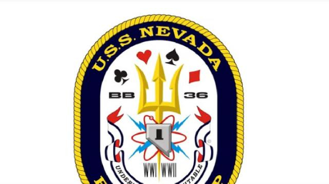 The incredible USS Nevada (BB-36) found in Pearl Harbor. [Image source/Tribute Flight YouTube video]