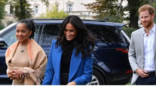 Meghan Markle and Mom Doria spent Mother's Day together. [Image source/Access YouTube video]