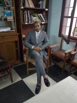Christian Nana Tchuisseu, Président de l'ICOM Cameroun (c) Odile Pahai