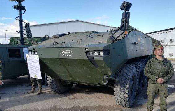 La Legión es la unidad encargada de probar los prototipos de 8x8