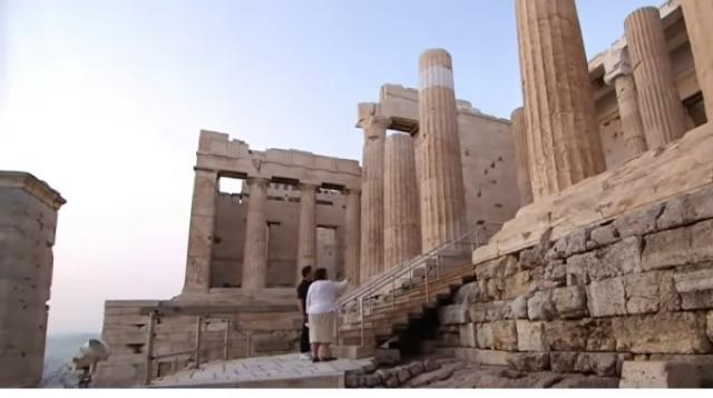 Greece prepares to reopen its doors to international tourists. [Image source/ABC News YouTube video]