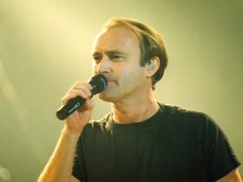 Phil Collins foi vocalista do Genesis entre 1975 e 1992. (Arquivo Blasting News)