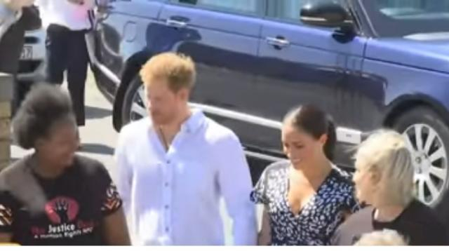 Meghan Markle and Prince Harry move to Los Angeles. [Image source/Entertainment Tonight YouTube video]