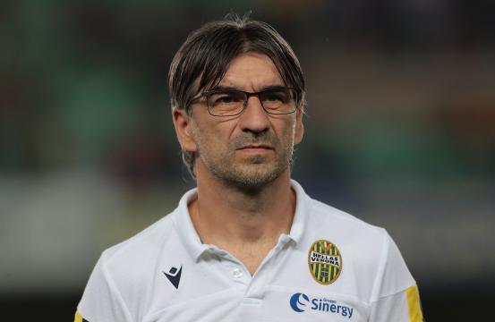 Il tecnico dell'Hellas Verona Ivan Juric.