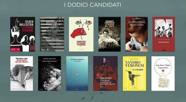 I dodici libri selezionati per la 74esima edizione del Premio Strega.