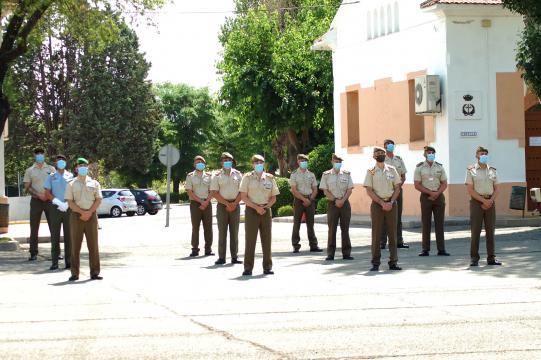 Efectivos del ET participantes en la misión en la formación de cierre de la misión