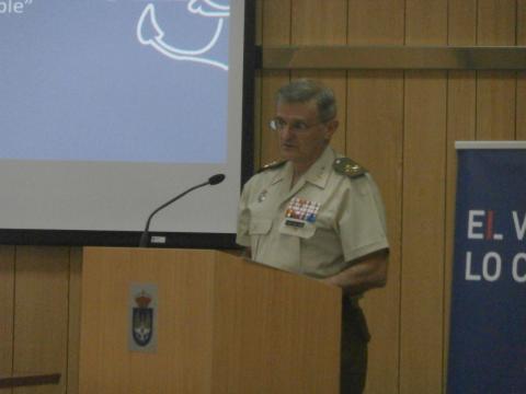 El Gral. Del Pozo, jefe del MOPS, realizó un análisis pormenorizado de la Operación Balmis