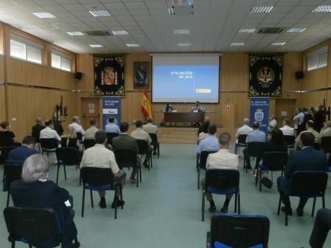 En la sala de conferencias del MOPS se informó de los detalles de la Operación Balmis