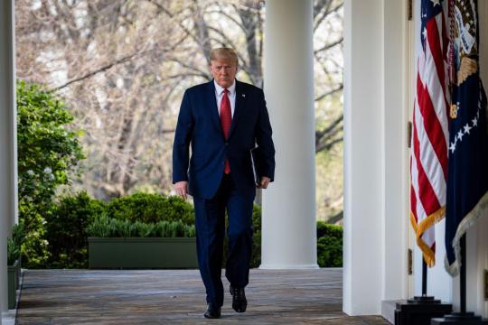 El presidente de Estados Unidos, Donald Trump. nytimes.com