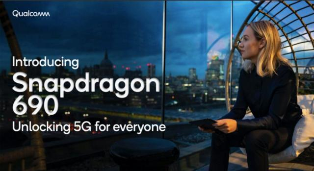 Qualcomm Snapdragon 690 unlocking 5G for every one.