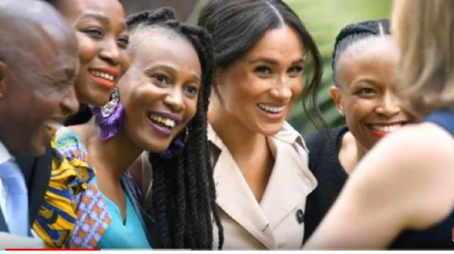 Meghan Markle announced as a keynote speaker at the Girl Up campaign's online leadership summit. [Image source/Breaking News YouTube video]