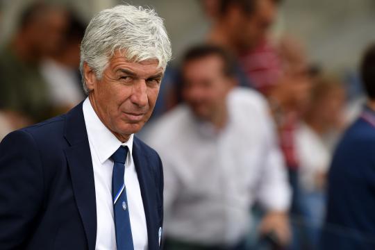 L'allenatore dell'Atalanta Gian Piero Gasperini.