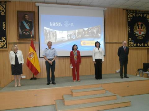 La cúpula del Ministerio de Defensa presentó la nueva directiva de defensa nacional.