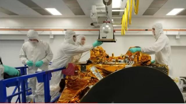 UAE successfully launches Arab world's first Mars mission. [Image source/CNN YouTube video]