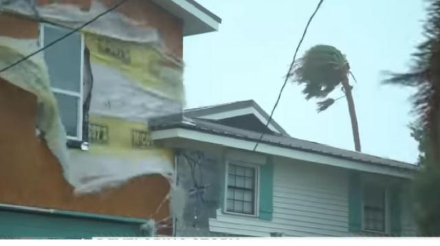 Hurricane Hanna wreaks havoc in Texas. [Image source/Good Morning America YouTube video]