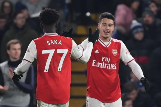 Mercato : le duo de Golden Boys Saka et Martinelli prolongent leur bail à Arsenal