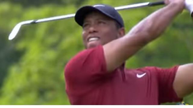 Tiger Woods – The comeback: a new chapter. [Image source/Golf Focus YouTube video]