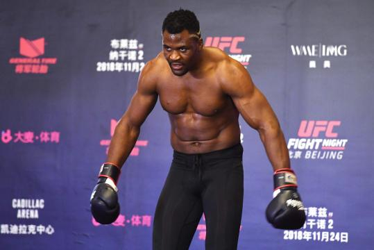 UFC: Francis Ngannou says 'there's no rules' as Miocic-Cormier ... - scmp.com