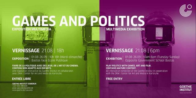 L'exposition 'Game and Politics' du Goethe-Institut Kamerun (c) Goethe-Institut