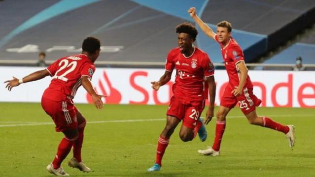 Le Bayern de Munich Vainqueur de l'UEFA Champion's league 2020