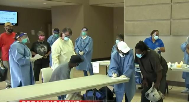 Hurricane Laura set to strike Gulf Coast, people prepare to evacuate. [Image source/NBC News YouTube video]