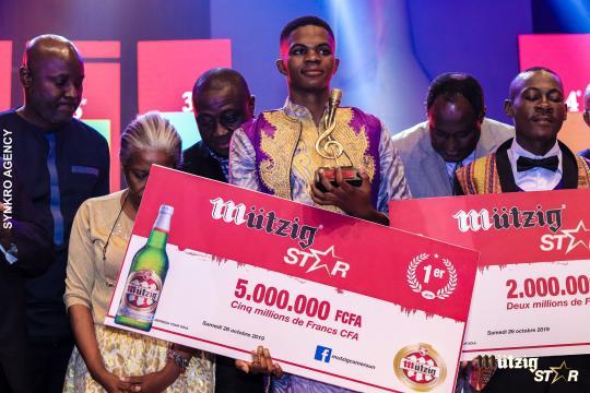 Voici comment Nda Chi a remporté Mützig Star 2019 - Voila Moi - voila-moi.com