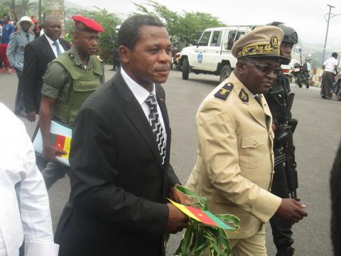 Minister Atanga Njie and Governor Okalia Bilai - Journal du Cameroun - journalducameroun.com