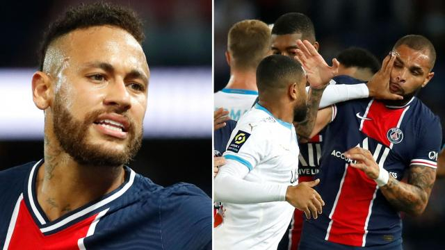 Scandale durant le match PSG contre Marseille de la Ligue 1