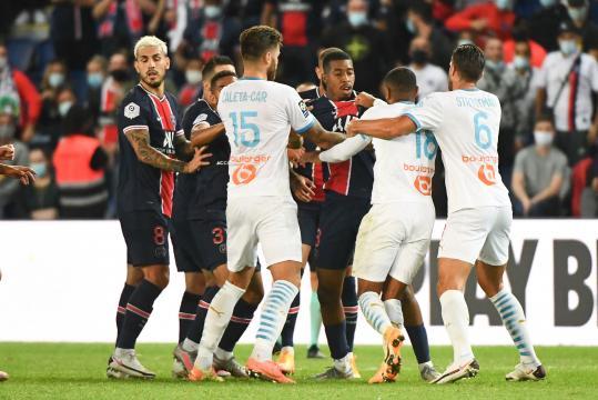 Scandale durant le match PSG contre Marseille