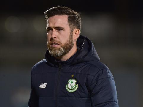 Stephen Bradley, allenatore dello Shamrock Rovers.