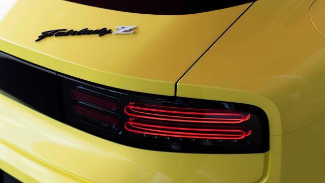 Fanale a led posteriore della Nissan Z Proto