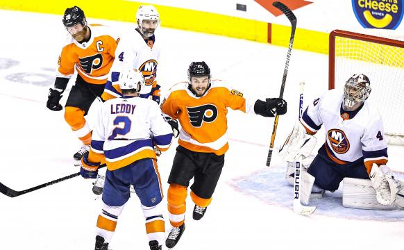 Los Flyers quieren llevar la serie al máximo ante los Islanders- nypost.com