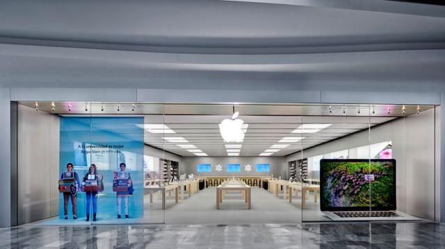 La tienda de Apple en Río Shopping de Valladolid