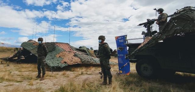La UDAAA del Ejercito de Tierra con misiles Mistral constituye la aportación del ET al