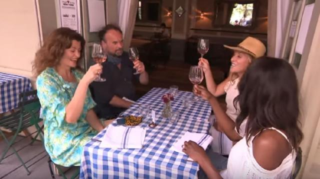 How New York City restaurants are making outdoor dining safe. [Image source/Inside Edition YouTube video]