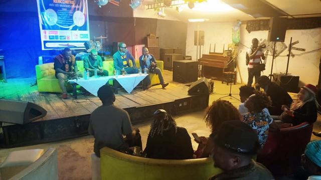 Echanges entre les acteurs des musiques urbaines et le MACICA ce 03 septembre 2020 (c) Odile Pahai