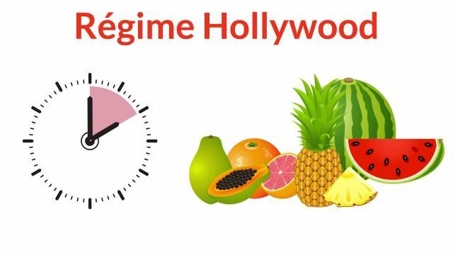 Le régime Hollywood ou régime fruits a des plus et des moins et peut créér des carences car il nous faut de tout.