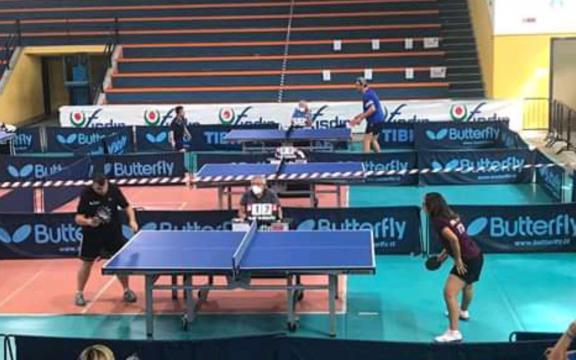 Campionati Italiani di Tennistavolo paralimpico Catania 4.