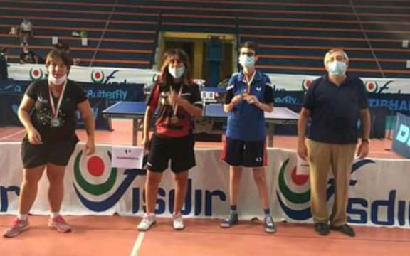 Campionati Italiani di Tennistavolo paralimpico Catania 7.