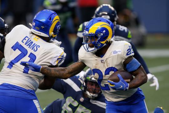 Rams le dieron una sorpresiva y dolorosa derrota a los Seahawks en Seattle. - www.telegram.com