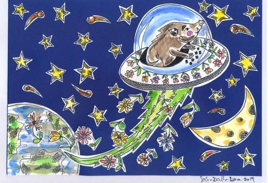 Fa rima con futuro. Un libro per sensibilizzare i bambini sull'ecologia, il cambiamento climatico, il riciclo, la vita degli animali selvaggi.