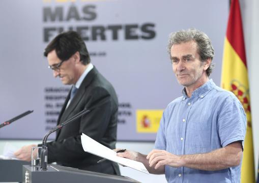 Fernando Simón cree que Illa se sintió engañado por las autoridades de Madrid