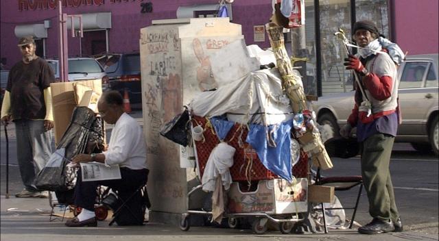 La pobreza en la ciudad de Los Ángeles crece, tras emergencia sanitaria de coronavirus.