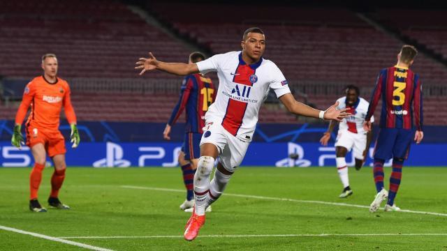 Mbappé se encargó de liquidar al Barcelona - www.stadiumastro.com