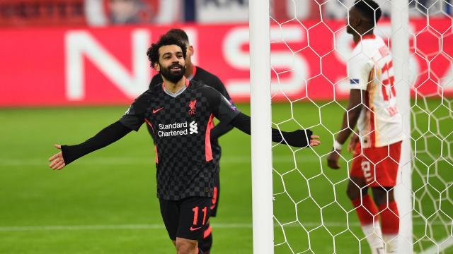 Salah y el Liverpool despertaron en Champions. - www.stadiumastro.com
