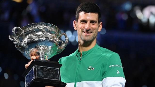 Cloud 9: Djokovic wins 9th Australian Open, 18th Slam title - NBC ... - nbcsports.com