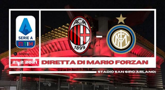 Serie A: il derbyssimo di campionato Milan - Inter alle 15 in diretta su blastingnews.com