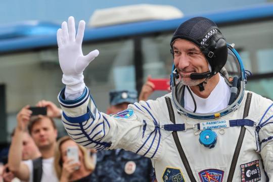 Il Colonnello Pilota e Astronauta ESA Luca Parmitano.