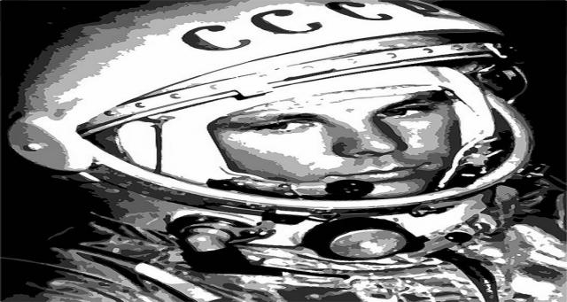 Yuri Gagarin, aviatore e cosmonauta sovietico.