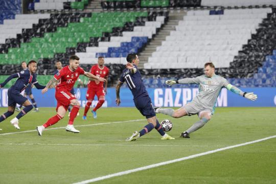El PSG tuvo muchas ocasiones para marcar goles en la vuelta. (@PSG_inside)